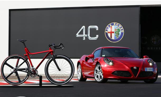 Alfa Romeo 4C IFD: Exklusives Carbon-Fahrrad
