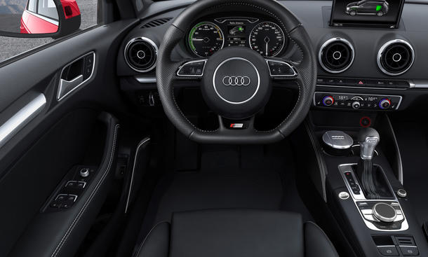 audi a3 sportback e tron 2014 preise f r ersten audi plug in hybrid bild 3. Black Bedroom Furniture Sets. Home Design Ideas