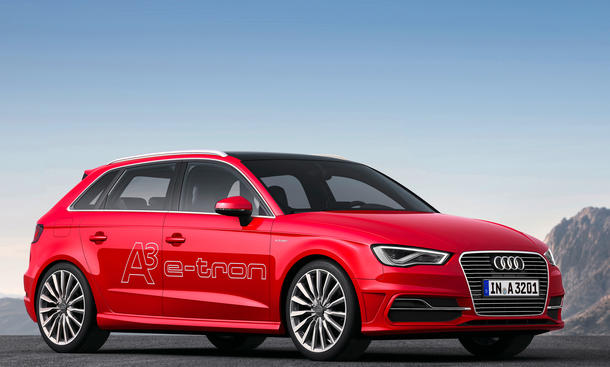 audi a3 sportback e tron 2014 preise f r ersten audi plug in hybrid. Black Bedroom Furniture Sets. Home Design Ideas