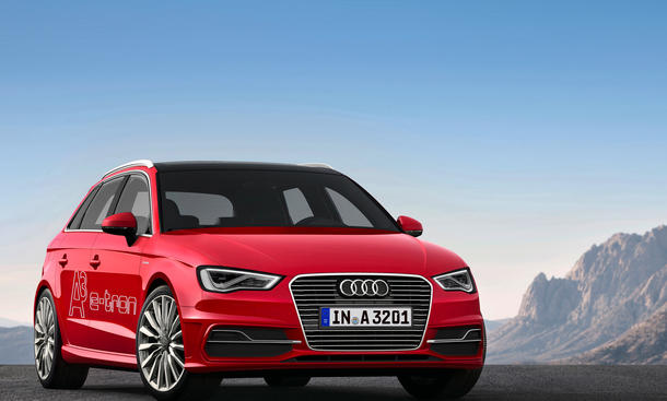 audi a3 sportback e tron 2014 preise f r ersten audi plug in hybrid bild 2. Black Bedroom Furniture Sets. Home Design Ideas