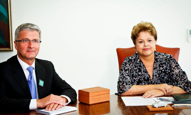 Audi Brasilien Produktion 2015 Fertigung