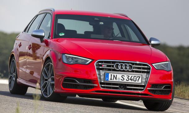 Audi S3 Sportback Vergleichstest Kompaktsportler 2013 Bilder Eckdaten