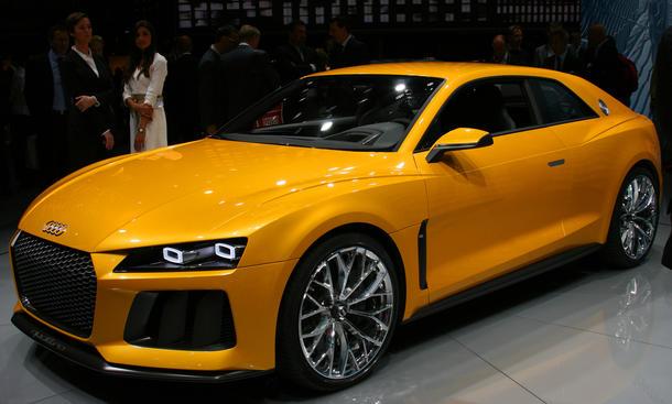 Audi Sport quattro concept: IAA 2013