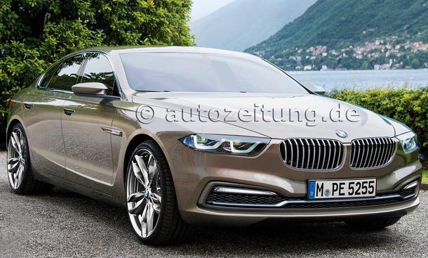 BMW 5er 2016 Limousine Bilder Neuheiten