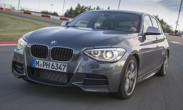 BMW M135i xDrive Vergleichstest Kompaktsportler 2013 Bilder Eckdaten