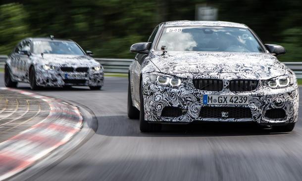 BMW M4 2014 M3 Technik Details Motor Carbon Leichtbau technische Daten