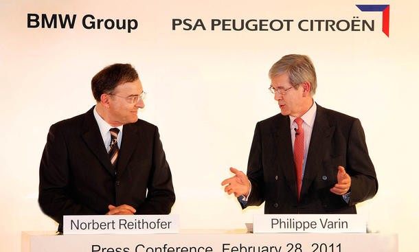 BMW Peugeot Motoren Partnerschaft Ende 2016 Technik