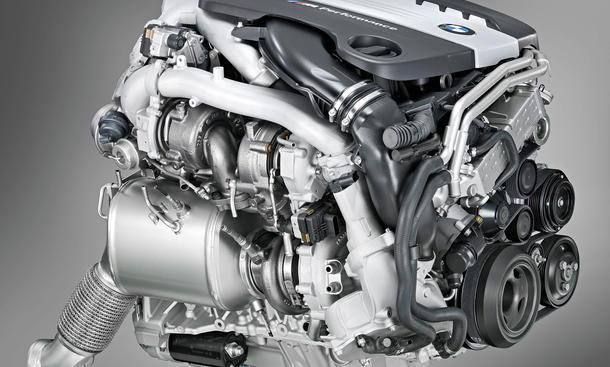 Motorul bmw tri turbo