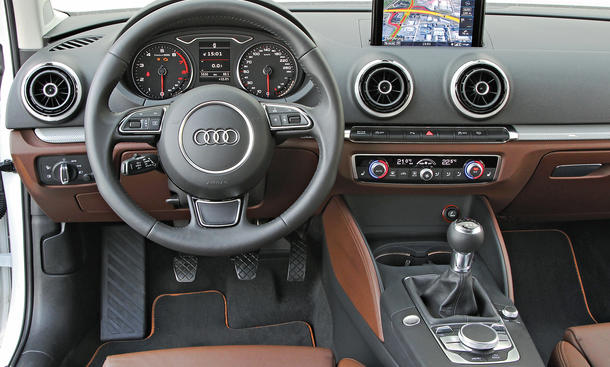audi a3 limousine 1 4 tfsi cod im test bilder und technische daten bild 2. Black Bedroom Furniture Sets. Home Design Ideas