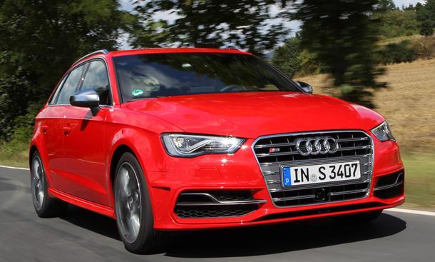Bilder 2013 Audi S3 Sportback Sportkombi Einzeltest Preis