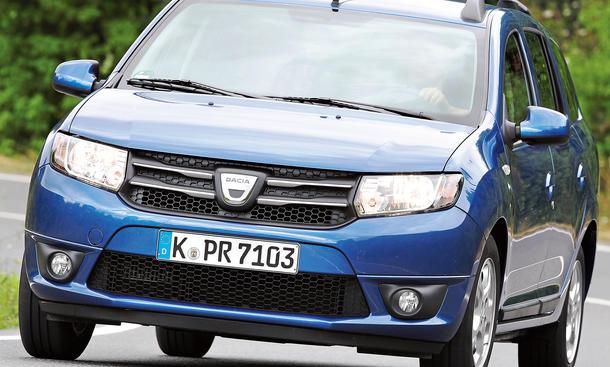 Bilder 2013 Dacia Logan MCV TCe 90 eco² Test Preis