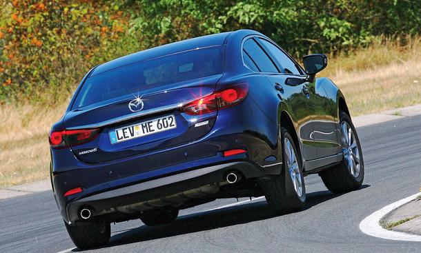 Bilder 2013 Mazda 6 2.0 Skyactiv-G 145 Mittelklasse Vergleichstest Frontantrieb
