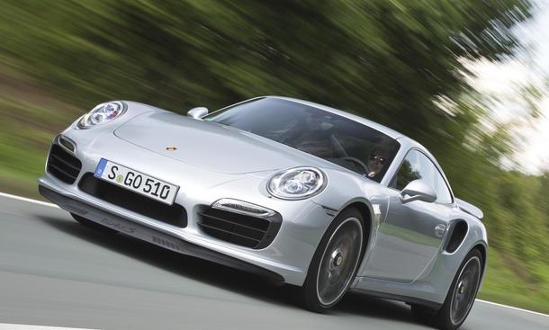 Bilder 2013 Porsche 911 Turbo S Fahrbericht Aerodynamik