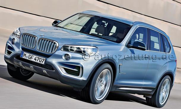 Bilder BMW X3 SUV-Neuheiten Sportliches Mittelklasse-SUV