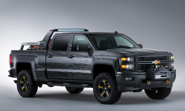 Chevrolet Silverado 2013 Studie Black Ops Firefighter Pickup