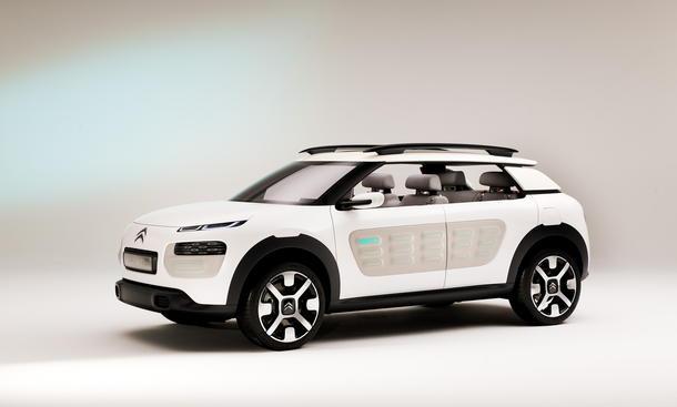 Citroen Cactus Concept IAA 2013 Kompakt-SUV Studie Dreizylinder City