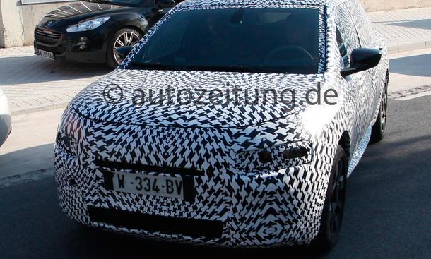 Citroën Cactus Erlkönig 2014 Neuheiten SUV Bilder