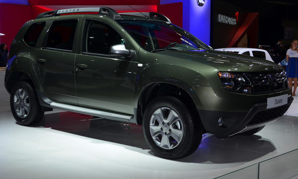 Dacia Duster Facelift 2013 Kompakt-SUV Geländewagen IAA