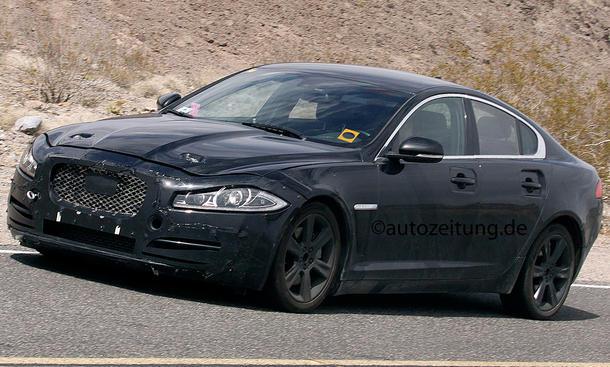 2014 - [Jaguar] XE [X760] - Page 2 Erlkoenig-Jaguar-XS-Type-2015-Mittelklasse-Limousine-4