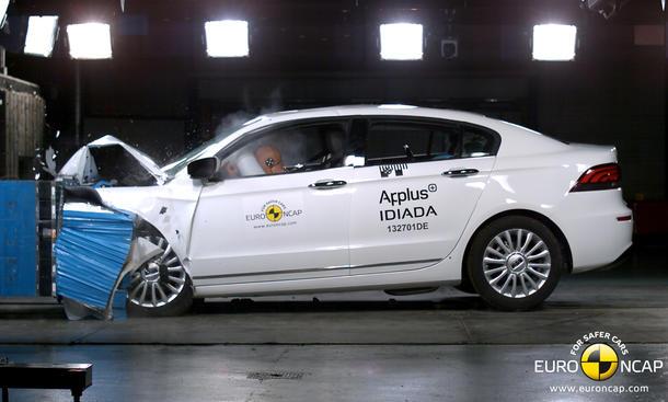 Euro NCAP Crash-Test Qoros 3 Limousine China Mittelklasse 5 Sterne