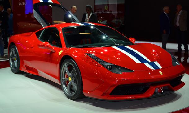 Ferrari 458 Speciale 2013 IAA Preis Supersportler Sondermodell