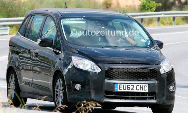 Ford C-Max Facelift 2014 Erlkönig front