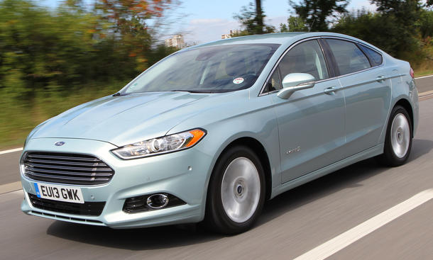 Ford Mondeo Hybrid Fusion Fahrbericht 2014
