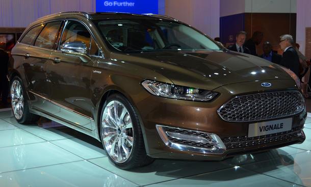 Ford Mondeo Vignale 2013 IAA Luxus Sondermodell Mittelklasse Neuheiten