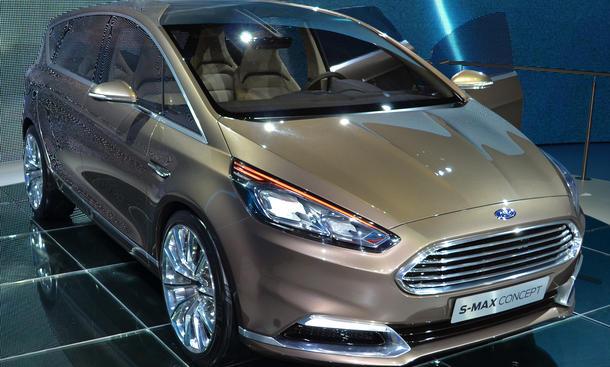 Ford S-Max Concept 2013 IAA Studie Design Bilder Sport Van