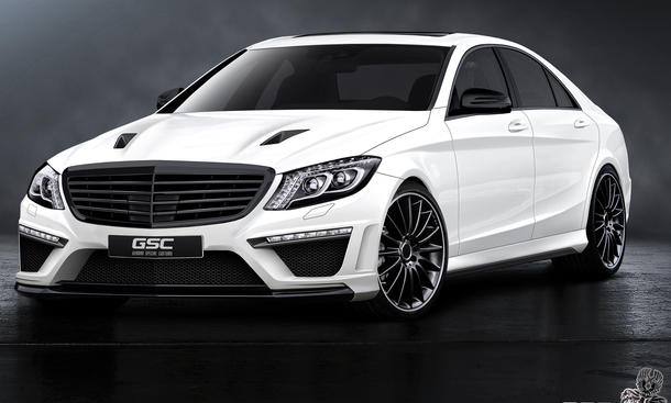 GSC German Special Customs Mercedes S-Klasse 2013 W222 Tuning Bodykit S63 AMG