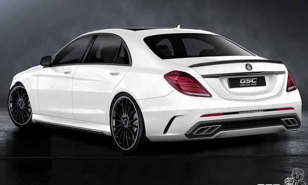 Mercedes S-Klasse 2013: Tuning von German Special Customs | Bild 2 ...