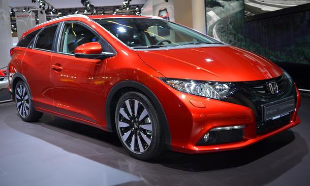 Honda Civic Tourer 2013 IAA Kompaktklasse Kombi Bilder LIVE Neuheiten