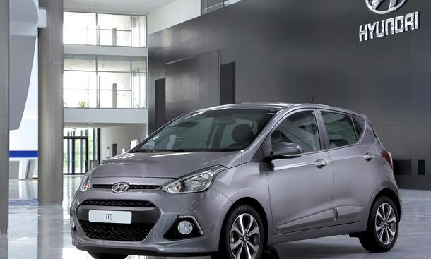 Hyundai i10 2014 Preis IAA 2013 Bilder Neue Generation