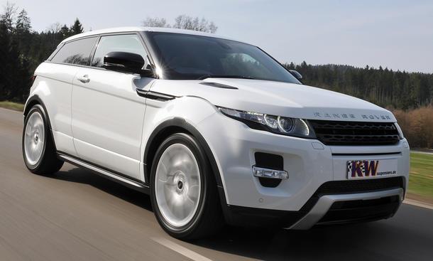 KW Range Rover Evoque 2013 Tuning DDC ECU Fahrwerk