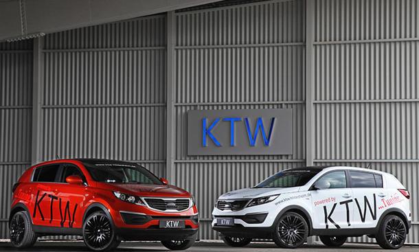 Kia Sportage Tuning KTW 2013 1.6 GDI 1.7 CRDI SUV