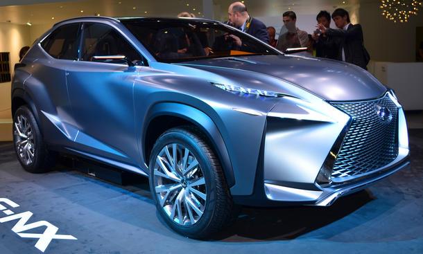 Lexus LF-NX Concept 2013 IAA Kompakt-SUV Studie