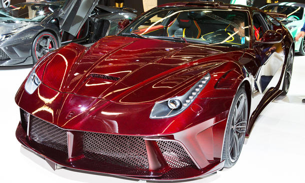 Mansory Ferrari F12 Berlinetta Tuning Leistungssteigerung IAA 2013