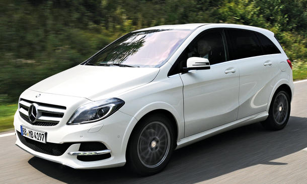 Mercedes B Class Electric >> Fahrbericht Mercedes B-Klasse Electric Drive 2013 ...