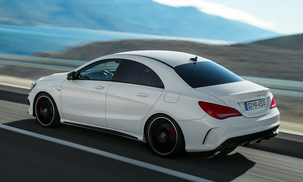 Mercedes cla 45 amg black series kommt so der top cla for Mercedes benz cla 350