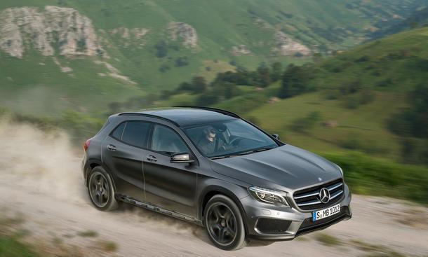 Mercedes GLA 200 Preis Benziner 2014