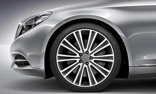 Mercedes S-Klasse 2013 E-Klasse Daimler Reifen Hankook Zulieferer