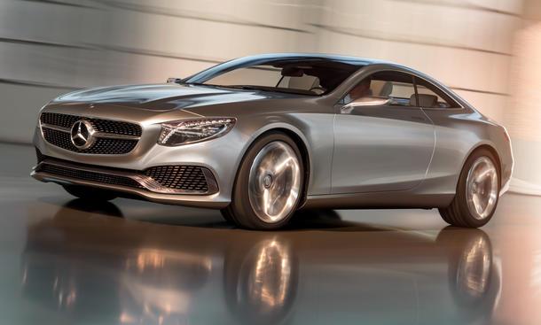 Mercedes S-Klasse Coupe 2014 Concept IAA 2013 Studie CL Nachfolger