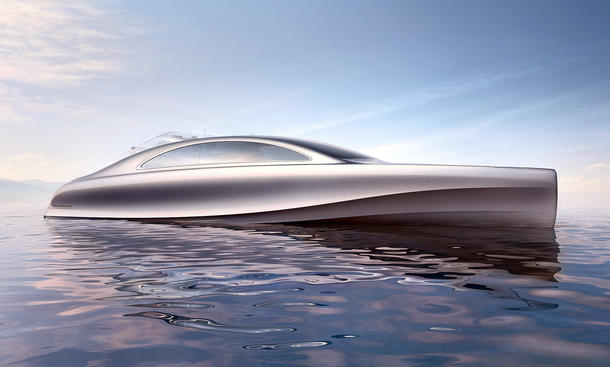 Mercedes Yacht 2013 Monaco Silver Arrow Marine Arrow 460