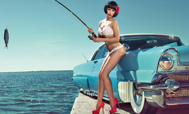 Kalender Girls September 2013 Cars & Girls Miss Tuning Frizzi Arnold
