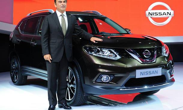 Nissan X-Trail 2014 IAA 2013 Bilder Crossover Design