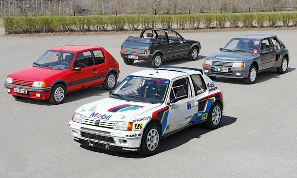 Peugeot 205 GTI CTI Rennversion Turbo 16 Rallye