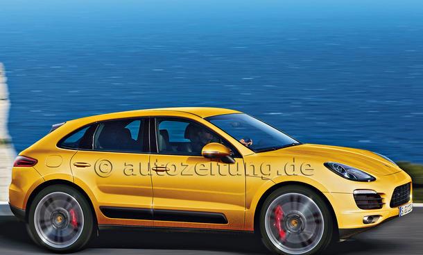 Porsche Macan 2014 Vorschau Kompakt SUV L.A. Auto Show 2013 Los Angeles