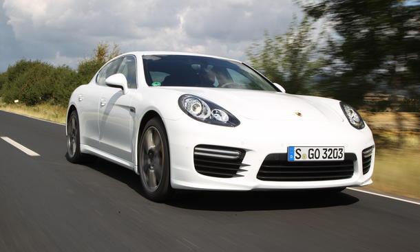 Porsche Panamera Turbo Einzeltest Bilder Technische Daten