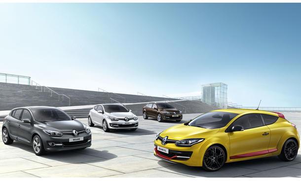 Renault Megane 2014 IAA 2013 Familie neu Generation
