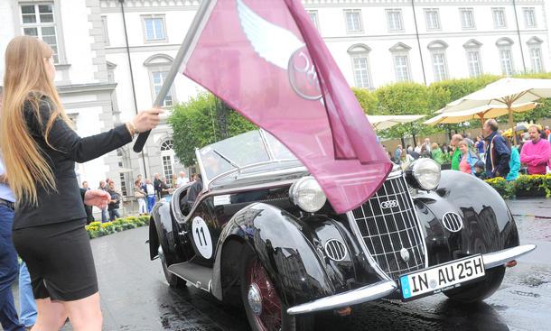 Schloss Bensberg Classics 2013 Oldtimer Concours Rallye Auto Union